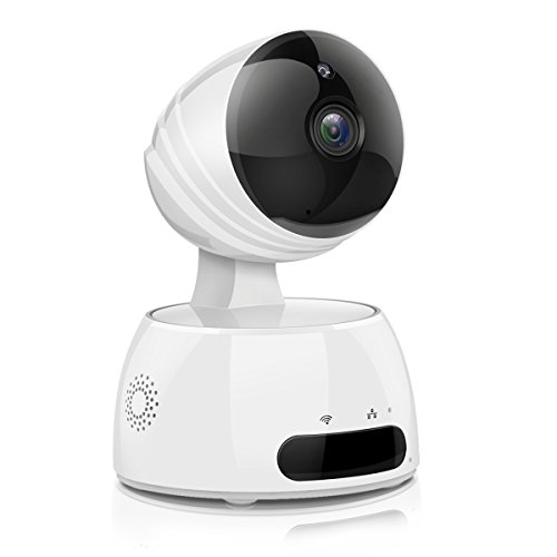 IP Kamera, EIVOTOR 960P Full HD Überwachungskamera Wlan Sicherheitskamera Innen Wifi Wilreless Bewegungsmelder Baby Monitor 360° Security Camera mit Bewegungserkennung, Zwei-Wege-Audio, IR Nachtsicht (Cam Outdoor Wireless)