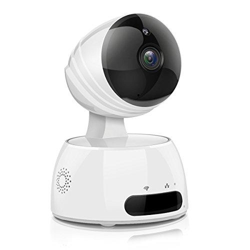 IP Kamera, EIVOTOR 960P Full HD Überwachungskamera Wlan Sicherheitskamera Innen Wifi Wilreless Bewegungsmelder Baby Monitor 360° Security Camera mit Bewegungserkennung, Zwei-Wege-Audio, IR Nachtsicht