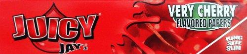Juicy Jay 's King Size nach Honig Papiere in verschiedenen Geschmacksrichtungen, je 5Hefte (32Blatt) Verkauft von Trendz