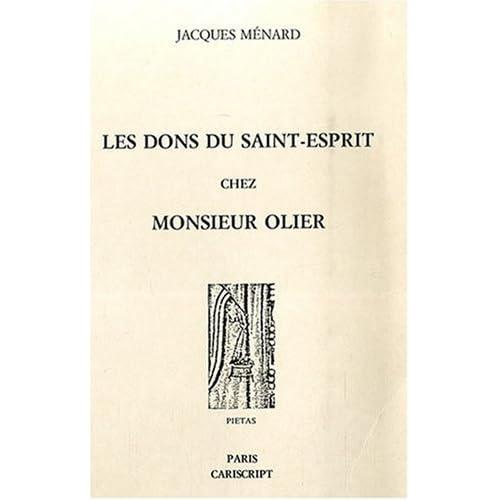 Les dons du Saint-Esprit chez Monsieur Olier