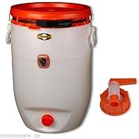 Contenedor de bebidas SPEIDEL - Cubeta fermentador redondo 60 L + 1 grifo plástico Ø 10