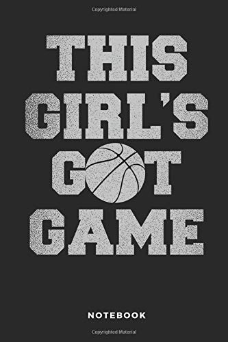 This Girl's Got Game Notebook: 6x9 Blank Lined Women Basketball Composition Notebook or Journal for Coaches and Players por iHoop Publishing