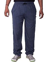 Lingo Men's Hosiery Track Pants Pyjama - Blue