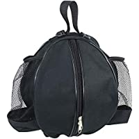 65618acd490d Qchomee Professional Basketball Carrying Bag with Side Water-bottle Pouch  Sports GYM Equipment Shoulder Messenger