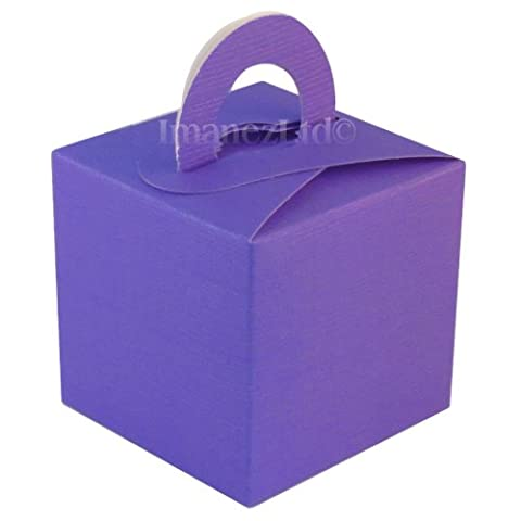 10 Pack of Cute Favour Gift Boxes in Purple *REDUCED TO CLEAR*