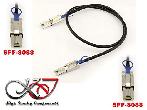 Raid-controller-board (Kalea Informatique Kabel SAS MINISAS SFF-8088auf SFF/8088–Länge 1m–SFF808826Pin Mini-SAS externes)