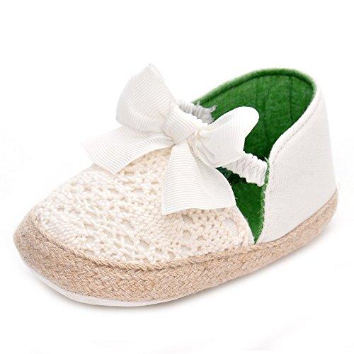 ESTAMICO , Baby Mädchen Lauflernschuhe Weiß