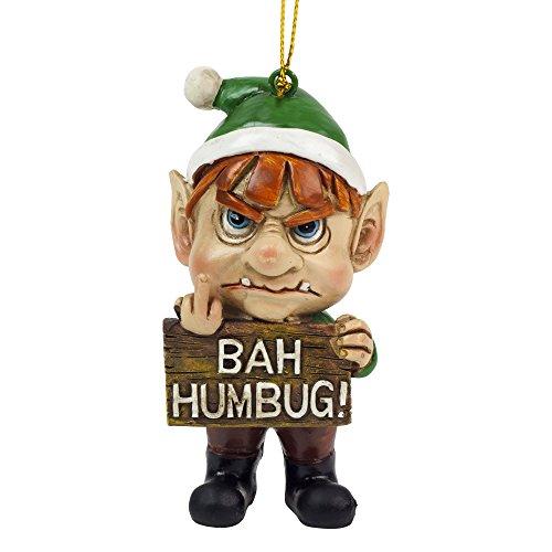 Baum Schmuck Mürrischer Elf Weihnachtsbaum Dekoration