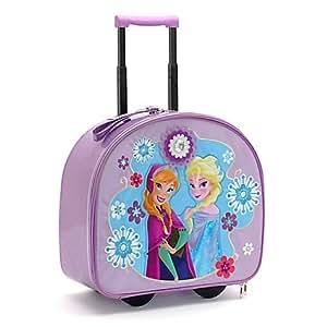 authentique magasin disney valise roulettes la reine des neiges pour enfants jeux. Black Bedroom Furniture Sets. Home Design Ideas