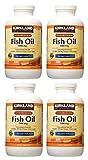 Kirkland Signature Fischöl 1000mg mit 300mg Omega-3, 4 Pack