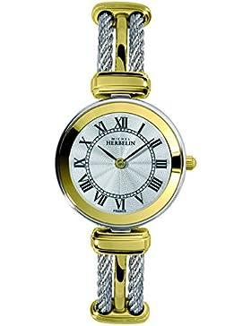 Michel Herbelin Unisex Erwachsene-Armbanduhr 17125/BT08