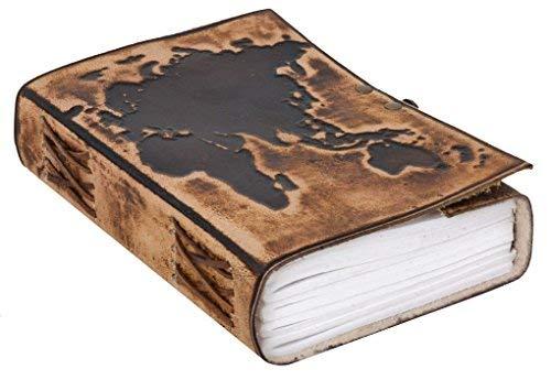 'Taccuino Gusti Leder 'Ronda DIN B5cuoio libro Block Notes Blocco per Appunti accessori Diario di viaggio libro di ricette marrone scuro 2p47-24-24