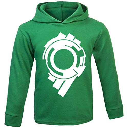 (Ghost In The Shell Section 9 Logo Baby and Kids Hooded Sweatshirt)