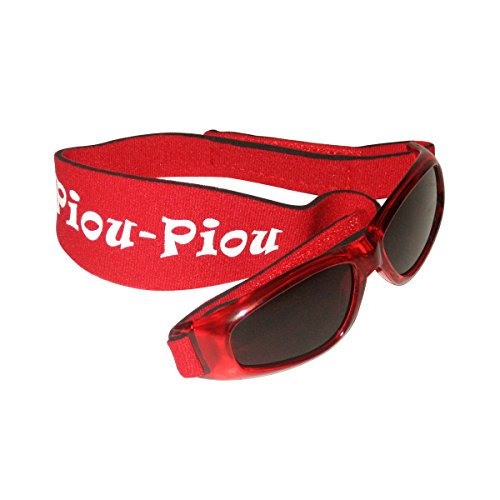 Piou Piou gafas para niños de 2 a 5 años - Rojo