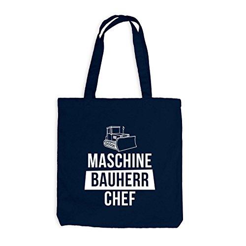 Sacchetto Di Juta - Costruttore Macchina Da Cuoco - Fai Da Te Richtfest Costruzione Navy