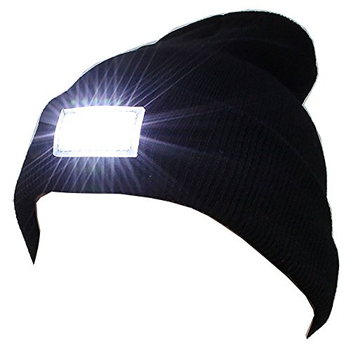 vanker-popular-winter-outdoor-5-led-light-headlamp-hat-knitted-cap-hunting-camping-black