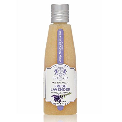 SKIN&CO ROMA Gel pour le Corps Exfoliant Fresh Lavender, 230 ml