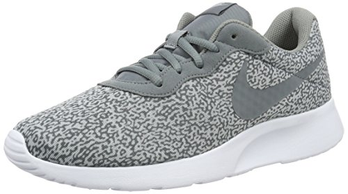 Nike Tanjun Print, Chaussures de Running Entrainement Homme Gris (Gris (cool grey/cool grey-wolf grey-white))