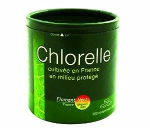 Flamant Vert Chlorelle Cultivée en France en Milieu Protégé Présentation 300 Comprimés de 300 mg