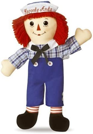 Raggedy Andy Classic Classic Classic Doll 16