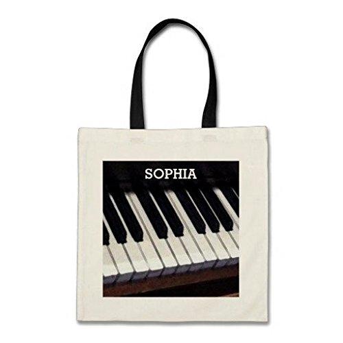 Personalisierte Musik Geschenk Budget Baumwolle Canvas Tote Bag (Reversible Canvas Tote)