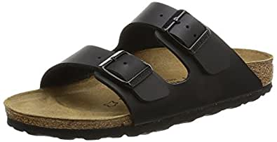 Birkenstock Women's Arizona Black Women's Sandals, Black (SCHWARZ), 2.5 Slim UK (35 EU)