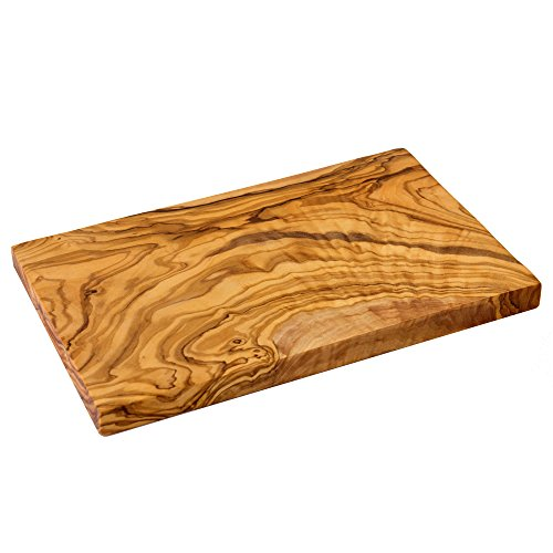 NATUREHOME - Madera Olivo - Tabla Cortar Rectangular