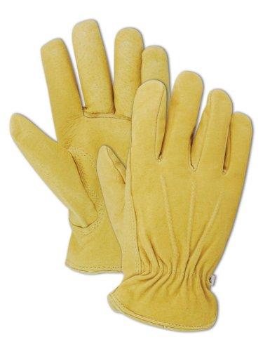 magid-b743et-s-hombre-pro-rojo-forrado-pendeford-grado-grano-guantes-piel-de-cerdo-bronceado-pequeno