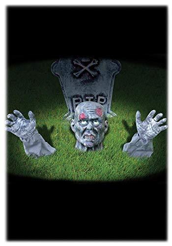 Mr.Giggelz Halloween Zombie Rasenstecker