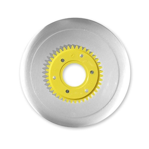 Schinkenmesser elektrolytisch poliert gelb für RITTER Multischneider compact 1, markant 01, markant 05 / Allesschneider / Messer / Ersatzmesser / Aufschnittmesser -