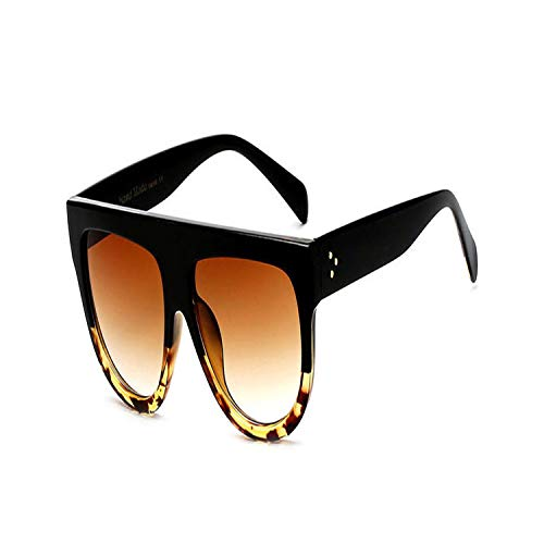 Sport-Sonnenbrillen, Vintage Sonnenbrillen, Flat Top Oversized Square Sunglasses Women Gradient NEW Summer Style Classic Women Sun Glasses Big Square Eyewear UV400 02