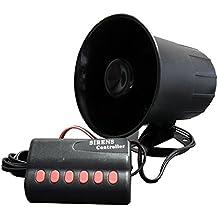 3M - Sirena (12 V, con 6 tipos de sonido de sirena)