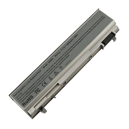 ARyee 5200mAh 11 1V E6400 Batería portátil para DELL Latitude E6400 E6410  E6500 E6510, Dell Precision M2400 M4400