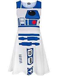 Star Wars R2D2 Damen Kleid