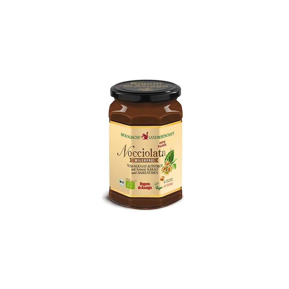 Rigoni Di Asiago Bio Nocciolata Nuss Nougat Creme 700g Milchfrei Vegan Glutenfrei
