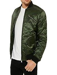 threadbare pour homme Huntsman MA1Veste Bomber Camouflage forme Manteau
