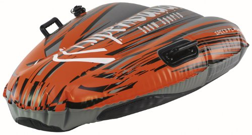 AlpenGaudi Kinder Schlitten Speed flash, orange, One Size, 997020