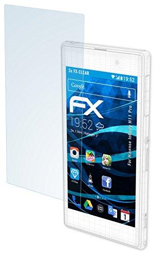 atFolix Schutzfolie kompatibel mit Hisense Infinity H11 Pro Folie, ultraklare FX Bildschirmschutzfolie (3X)