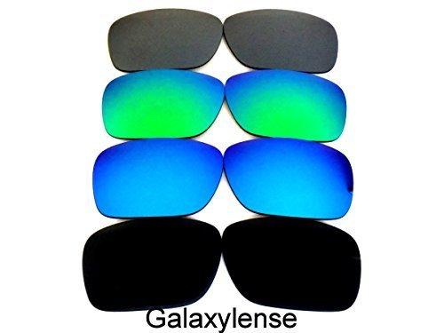 55e33bbeb2ec8 Galaxy Lentes De Repuesto Para Oakley Holbrook POLARIZADOS NEGRO Azul Morado  Rojo - 4