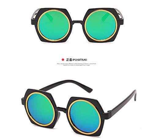 Sonnenbrille Kinder Sonnenbrille Baby Beschichtung Objektiv Sonnenbrille Fabrik Großhandel Uv400 Kind Eyewear Baby Schwarz Grün