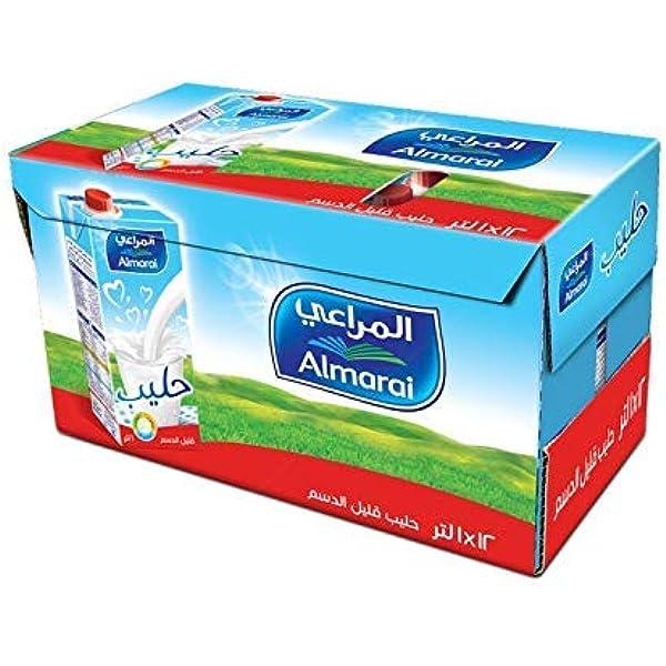 اشتري اونلاين بأفضل الاسعار بالسعودية سوق الان امازون السعودية حليب كامل الدسم معالج بدرجة حرارة عالية بالفيتامينات من المراعي 12 1 لتر
