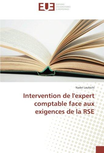 Intervention de l'expert comptable face aux exigences de la RSE par Nader Louhichi