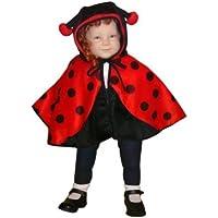Kostüm als Umhang, Gr. 74-98, Faschingskostüm für Klein Kinder Tier-Kostüm Kostüme Fasching Karneval Fasnacht, Karnevalskostüme, Kinder-Faschingskostüme, Geburtstags-Geschenk Weihnachts-Geschenk