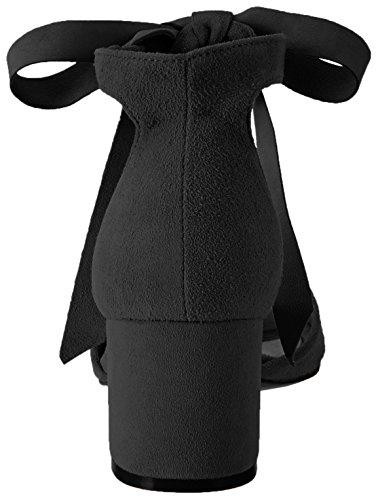 Schutz Damen S2-00010097 Riemchensandalen Schwarz (Black)