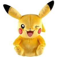 Tomy Pikachu Felpa Amarillo - Juguetes de peluche (Amarillo, Pokemon, Felpa, 3 año(s), Niño/niña, 203,2 mm)