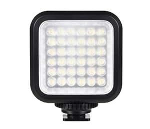Video-Leuchte LED-5006 36 Hochleistungsleds für Standard Blitzschuh + Adapter für Sony Camcorder