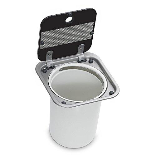 Preisvergleich Produktbild Dometic 9103300435 Abfallbehälter mit Glasabdeckung für Caravan und Wohnmobil