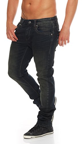 Rock Revival -  Jeans  - Straight  - Uomo Blau