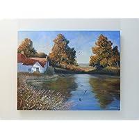 Il Mill pond – 45 cm x 35 cm, bellissima
