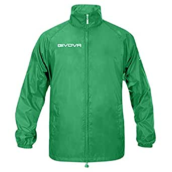 "Givova Calcio Giacca da pioggia ""Básico"" Teamwear - verde, XXS"